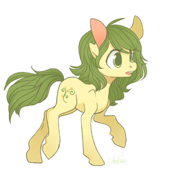 Size: 800x796 | Tagged: safe, artist:laceymod, oc, oc only, oc:invidia, earth pony, pony, female, mare, simple background, solo, white background