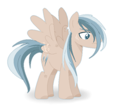 Size: 534x462 | Tagged: artist:6-fingers-lover, magical gay spawn, male, oc, oc:thunderstorm, offspring, parent:dumbbell, parent:soarin', parents:soarinbell, pegasus, pony, safe, simple background, solo, stallion, transparent background