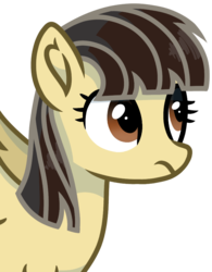 Size: 752x965 | Tagged: safe, artist:rainbow eevee, wild fire, pegasus, pony, female, looking up, mare, simple background, solo, transparent background, unamused