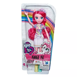 Size: 800x800 | Tagged: safe, pinkie pie, equestria girls, equestria girls series, brushable, clothes, doll, equestria girls logo, shirt, skirt, toy