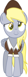 Size: 307x837 | Tagged: artist:crystalmagic6, between dark and dawn, derp, derpy hooves, full body, hat, inkscape, mail, mailmare, mailpony, pegasus, pony, safe, solo, spoiler:s09e13, vector