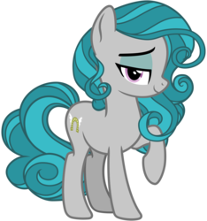 Size: 3000x3200 | Tagged: safe, alternate version, artist:cheezedoodle96, idw, swift foot, earth pony, pony, spoiler:comic, spoiler:comicfeatsoffriendship01, .svg available, cutie mark, eyeshadow, female, filly, idw showified, lidded eyes, looking at you, makeup, mare, raised eyebrow, raised hoof, simple background, smiling, solo, svg, teenager, thracian, transparent background, vector