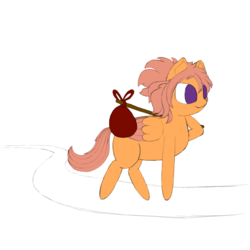 Size: 1000x1000 | Tagged: safe, artist:shoophoerse, oc, oc:shoop, pegasus, pony, atg 2019, newbie artist training grounds, solo