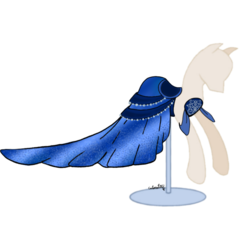 Size: 1080x979 | Tagged: artist:catscat111, clothes, dress, dress form, mannequin, pony prom, safe