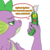 Size: 1500x1500 | Tagged: safe, artist:korencz11, discord, spike, dragon, atg 2019, food, newbie artist training grounds, pickle, pickle rick, rick and morty, simple background, transparent background, winged spike