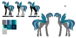 Size: 9921x4960 | Tagged: absurd res, artist:moonlight0shadow0, belt, boots, changepony, clothes, dog tags, earpiece, fingerless gloves, gloves, hybrid, icey-verse, interspecies offspring, jacket, jeans, leather jacket, male, oc, oc:espion, oc only, offspring, pants, parent:queen chrysalis, parent:shining armor, parents:shining chrysalis, pouch, reference sheet, rolled up sleeves, safe, scar, scarf, shirt, shoes, simple background, socks, solo, stallion, striped socks, sweater, tattoo, torn clothes, transparent background, t-shirt, turtleneck