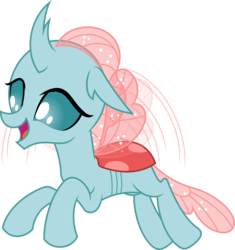Size: 4697x5000 | Tagged: absurd res, artist:dashiesparkle, changedling, changeling, cute, diaocelles, female, flying, ocellus, open mouth, safe, simple background, solo, spoiler:s09e03, .svg available, transparent background, uprooted, vector