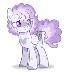 Size: 1364x1404 | Tagged: artist:6-fingers-lover, base used, female, magical lesbian spawn, mare, oc, offspring, parent:pinkie pie, parent:rainbow dash, parents:pinkiedash, pegasus, pony, safe, simple background, solo, transparent background