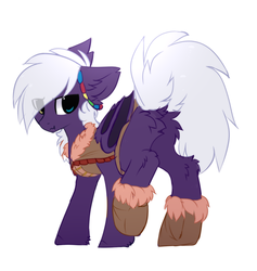 Size: 1028x1084 | Tagged: artist:sketch-fluffy, bat pony, butt, fluffy, heterochromia, looking at you, looking back, looking back at you, male, oc, plot, pony, raised leg, safe, simple background, sketch-fluffy's fluffy butts, solo, stallion, tribal, white background