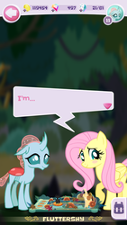 Size: 720x1280 | Tagged: fluttershy, game screencap, ocellus, pocket ponies, safe, screencap
