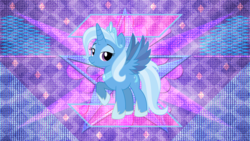 Size: 3840x2160 | Tagged: alicorn, alicornified, artist:laszlvfx, artist needed, race swap, safe, trixie, trixiecorn, wallpaper