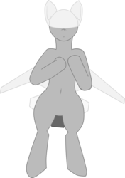 Size: 3832x5454 | Tagged: safe, artist:not-immortal, oc, oc only, original species, plane pony, pony, predator drone, belly button, drone, flying, looking at you, plane, simple background, smiling, solo, transparent background, upright