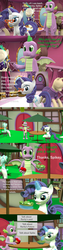 Size: 1920x7560 | Tagged: 3d, artist:papadragon69, burger, carousel boutique, choice, choose your own adventure, clothes, comic, comic:spike's cyosa, dragon, food, glasses rarity, lyra heartstrings, older, older spike, outfit, rarity, restaurant, safe, salad, source filmmaker, spike, teenager, teenage spike, winged spike