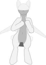 Size: 3832x5454 | Tagged: safe, artist:not-immortal, oc, oc only, original species, plane pony, pony, belly button, drone, flying, looking at you, plane, simple background, smiling, solo, transparent background, upright