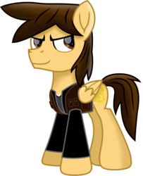 Size: 7052x8683 | Tagged: alternate version, artist:ejlightning007arts, clothes, derpibooru exclusive, edit, lighting, male, oc, oc:ej, pegasus, ponified, pony, safe, shadow, sweater, vector, vest