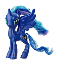 Size: 407x407 | Tagged: alicorn, blue hair, brushable, clothes, eyeshadow, makeup, pony, princess luna, purple hair, safe, shoes, toy