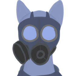 Size: 894x894 | Tagged: artist:riley vinchers, bust, clothes, earth pony, gas mask, mask, pony, portrait, safe, uniform