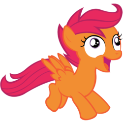 Size: 894x894 | Tagged: artist needed, cutie mark creeps, derp, edit, editor:undeadponysoldier, elements of insanity, faic, female, filly, karateloo, pegasus, pony, safe, scootaloo, solo, vector, vector edit