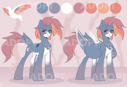 Size: 3600x2480 | Tagged: adoptable, artist:tigra0118, auction, auction open, female, link in description, my little pony, oc, pegasus, pony, reference, safe, solo