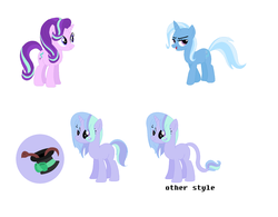 Size: 1536x1200 | Tagged: artist:therainbowgod, family, female, lesbian, magical lesbian spawn, offspring, parents:startrix, parent:starlight glimmer, parent:trixie, safe, shipping, starlight glimmer, startrix, trixie