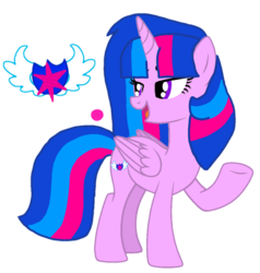 Size: 1014x1064 | Tagged: alicorn, alicorn oc, artist:徐詩珮, base used, female, mare, next generation, oc, oc:vesty sparkle, offspring, parent:flash sentry, parents:flashlight, parent:twilight sparkle, safe, simple background, transparent background, vector