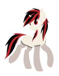 Size: 2150x2776 | Tagged: safe, artist:retro melon, artist:setharu, oc, oc only, oc:blackjack, pony, unicorn, fallout equestria, fallout equestria: project horizons, clothes, fanfic, fanfic art, female, hooves, horn, lineless, mare, missing cutie mark, simple background, solo, stockings, thigh highs, trace, transparent background