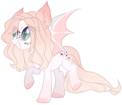 Size: 2785x2393 | Tagged: artist:joshuarm, bat pony, female, mare, oc, pony, safe, simple background, solo, transparent background