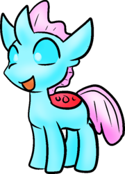 Size: 533x742 | Tagged: artist:zutcha, changedling, changeling, female, ocellus, safe, simple background, solo, transparent background