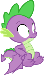 Size: 2373x4028 | Tagged: artist:memnoch, claws, dragon, male, safe, simple background, solo, spike, spread toes, transparent background, vector, winged spike