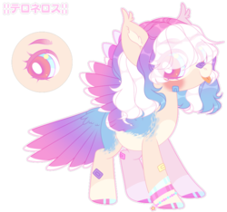 Size: 800x748 | Tagged: artist:anisa-mlp222, colored wings, colored wingtips, female, mare, oc, oc:sumore suhani, pegasus, pony, safe, simple background, solo, tail feathers, transparent background