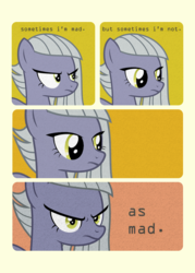 Size: 800x1120 | Tagged: angry, comic, derpibooru exclusive, limestone pie, meme, ponified meme, safe