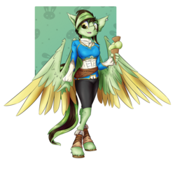 Size: 3200x3200 | Tagged: anthro, artist:coldtrail, clothes, food, ice cream, ice cream cone, oc, oc:akane, pegasus, safe, simple background, solo, transparent background, unguligrade anthro