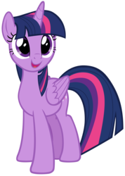 Size: 6332x8880 | Tagged: absurd res, alicorn, artist:andoanimalia, cutie mark, female, mare, open mouth, pony, safe, simple background, sparkle's seven, spoiler:s09e04, transparent background, twilight sparkle, twilight sparkle (alicorn), vector
