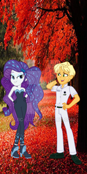 Size: 400x800 | Tagged: safe, artist:bc-ls, ragamuffin (equestria girls), rarity, equestria girls, equestria girls series, spring breakdown, the other side, spoiler:eqg series (season 2), female, male, rarimuffin, shipping, straight