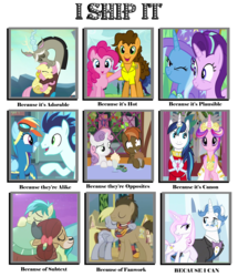 Size: 1550x1800 | Tagged: safe, artist:happy125, button mash, cheese sandwich, derpy hooves, discord, doctor whooves, fancypants, fleur-de-lis, fluttershy, pinkie pie, princess cadance, rainbow dash, sandbar, shining armor, soarin', starlight glimmer, sweetie belle, time turner, trixie, yona, cheesepie, discoshy, doctorderpy, fancyfleur, female, lesbian, male, shiningcadance, shipping, shipping chart, soarindash, startrix, straight, sweetiemash, yonabar