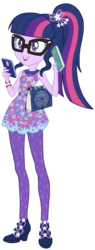 Size: 415x1095 | Tagged: artist:sapphiregamgee, artist:superbobiann101, clothes, cropped, dead source, edit, equestria girls, equestria girls series, female, geode of telekinesis, high heels, magical geodes, ponytail, safe, sci-twi, shoes, simple background, solo, stolen, transparent background, twilight sparkle