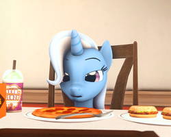 Size: 1350x1080 | Tagged: 3d, artist:thederpymuffin, cropped, edit, food, pizza, safe, source filmmaker, trixie