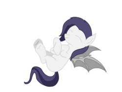 Size: 2048x1536 | Tagged: artist:cosmiceclipsed, bat pony, bat pony oc, bat wings, colored lineart, derpibooru exclusive, digital art, female, floating, flying, happy, mare, membranous wings, oc, oc only, oc:trigger pixel, pony, safe, simple background, smiling, solo, transparent background, wings