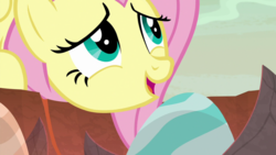 Size: 1920x1080 | Tagged: dragon egg, egg, female, fluttershy, mare, pony, safe, screencap, solo, spoiler:s09e09, sweet and smoky