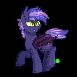 Size: 2000x2000 | Tagged: safe, artist:redheartponiesfan, artist:shootingstaryt, oc, oc:jupiter, bat pony, pony, male, simple background, solo, stallion, transparent background