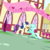 Size: 542x542 | Tagged: safe, screencap, bon bon, lyra heartstrings, sweetie drops, earth pony, pony, unicorn, the big mac question, spoiler:s09e23, adventure in the comments, background characters doing background things, background pony, box, canon ship, cropped, duo, dutch angle, engagement, engagement ring, female, it finally happened, it happened, kneeling, lesbian, lyrabon, mare, marriage proposal, pony history, raised hoof, ring, shipping