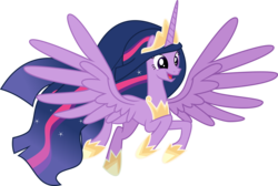 Size: 7360x4934 | Tagged: safe, artist:digimonlover101, twilight sparkle, alicorn, pony, official, the last problem, absurd resolution, adult, cute, ethereal mane, female, mare, older, older twilight, open mouth, princess twilight 2.0, simple background, that was fast, transparent background, twiabetes, twilight sparkle (alicorn), vector