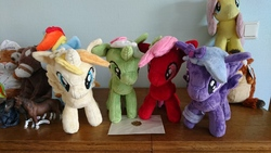 Size: 5984x3366   Tagged: safe, artist:bastler, artist:moon flower, derpibooru exclusive, fluttershy, rainbow dash, oc, oc:comment, oc:downvote, oc:favourite, oc:upvote, alicorn, big cat, dragon, earth pony, horse, pegasus, pony, seal, tiger, unicorn, derpibooru, 2019, 4de, bad dragon, chance (bad dragon), chance the stallion, commission, covering, covering ears, derpibooru ponified, envelope, female, figurine, group, heindl, holding, irl, logo, male, mare, meta, photo, plushie, ponified, porcelain, schleich, schokotiger, sex toy, soapstone, stallion, steatite, wall eyed, wax, wax seal