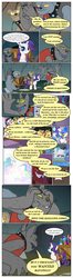 Size: 612x2319 | Tagged: alicorn, artist:newbiespud, clothes, collar, comic, comic:friendship is dragons, dialogue, diamond dog, earth pony, edit, edited screencap, female, fido, flam, flim, flim flam brothers, gem, glowing horn, hat, hoof shoes, horn, male, mare, pony, princess celestia, princess luna, raised hoof, rarity, rover, royal guard, s1 luna, safe, salute, sapphire shores, screencap, screencap comic, spiked collar, spot, spread wings, stallion, unicorn, unshorn fetlocks, vest, wagon, wings