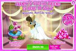 Size: 1034x690 | Tagged: advertisement, costs real money, gameloft, gem, matilda, official, safe