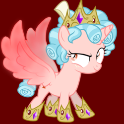 Size: 1000x1000 | Tagged: artist needed, safe, edit, editor:katya, cozy glow, alicorn, pony, the ending of the end, spoiler:s09e24, spoiler:s09e25, alicornified, bow, cozycorn, crown, curly hair, female, filly, foal, freckles, hair bow, hoof shoes, jewelry, race swap, raised eyebrow, regalia, spread wings, vector, wings
