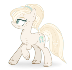 Size: 1128x1100 | Tagged: safe, artist:6-fingers-lover, oc, oc:lucky hoof (6-fingers-lover), earth pony, pony, female, mare, offspring, parent:applejack, parent:double diamond, parents:doublejack, simple background, solo, transparent background