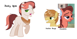 Size: 1250x639 | Tagged: safe, artist:ipandacakes, feather bangs, swoon song, oc, oc:dusty rose, earth pony, pony, male, offspring, parent:feather bangs, parent:swoon song, parents:swoonbangs, simple background, stallion, transparent background