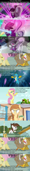 Size: 640x3661 | Tagged: angry, apple, apple tree, artist:jan, backup dancers, button's adventures, coloratura, cricket, cropped, crusaders of the lost mark, duck, duckling, edit, edited screencap, filk, fluttershy, food, gallus, gilda, griffon the brush off, joy boy, laser, limelight, lyrics, new wave (character), oc, oc:cream heart, op is a duck (reaction image), pipsqueak, putting your hoof down, safe, screencap, sesame street, smooth move, song reference, spoiler:s09e03, sports, text, the mane attraction, tree, turbo bass, uprooted, veil
