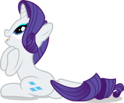 Size: 5000x4166 | Tagged: artist:luckreza8, pony, rarity, rarity investigates, safe, season 5, simple background, solo, .svg available, transparent background, unicorn, vector